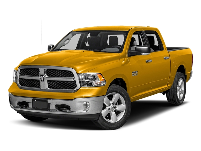 Detonator Yellow Clearcoat 2018 Ram Truck 1500 Pictures 1500 SLT 4x4 Crew Cab 5'7 Box photos front view