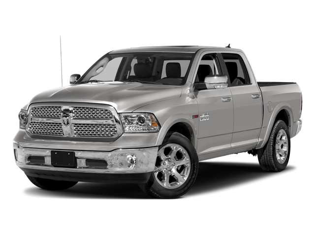 Bright Silver Metallic Clearcoat 2018 Ram Truck 1500 Pictures 1500 Laramie 4x2 Crew Cab 5'7 Box photos front view