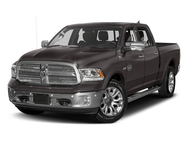 Granite Crystal Metallic Clearcoat 2018 Ram Truck 1500 Pictures 1500 Longhorn 4x2 Crew Cab 5'7 Box *Ltd Avail* photos front view