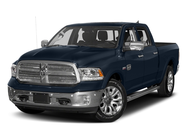 True Blue Pearlcoat 2018 Ram Truck 1500 Pictures 1500 Longhorn 4x2 Crew Cab 5'7 Box *Ltd Avail* photos front view