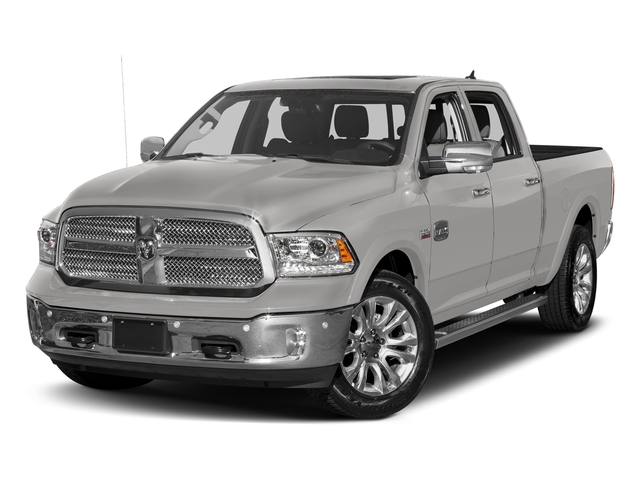 Bright Silver Metallic Clearcoat 2018 Ram Truck 1500 Pictures 1500 Longhorn 4x2 Crew Cab 5'7 Box *Ltd Avail* photos front view