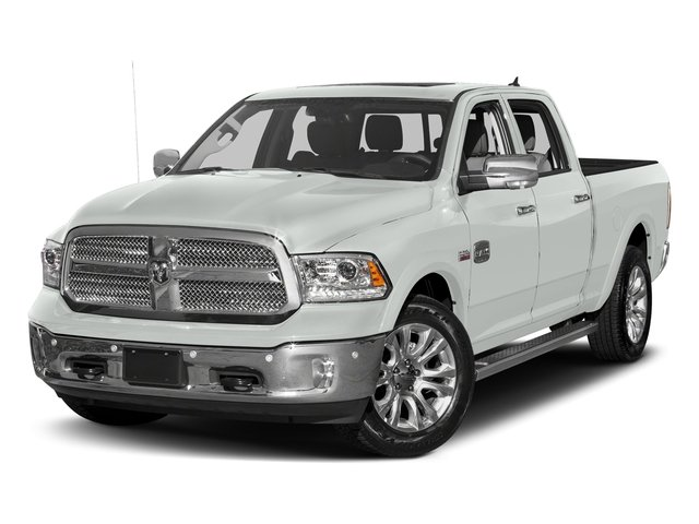 Bright White Clearcoat 2018 Ram Truck 1500 Pictures 1500 Longhorn 4x2 Crew Cab 5'7 Box *Ltd Avail* photos front view
