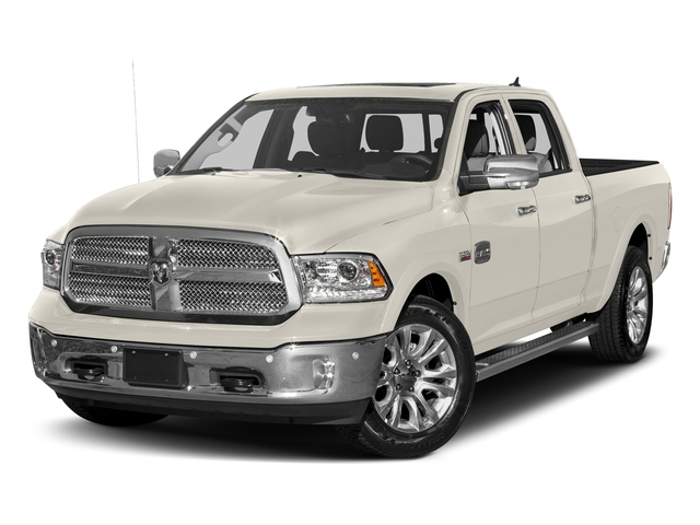Pearl White 2018 Ram Truck 1500 Pictures 1500 Longhorn 4x2 Crew Cab 5'7 Box *Ltd Avail* photos front view