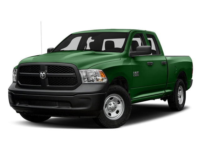 Tree Green 2018 Ram Truck 1500 Pictures 1500 Express 4x4 Quad Cab 6'4 Box photos front view