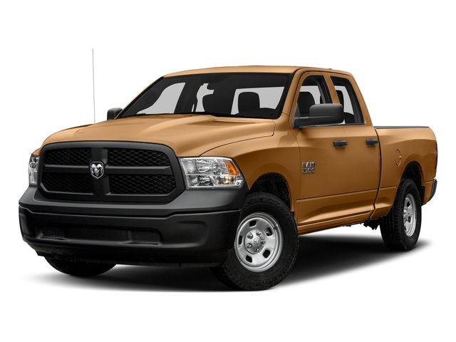 Power Tan 2018 Ram Truck 1500 Pictures 1500 Express 4x4 Quad Cab 6'4 Box photos front view