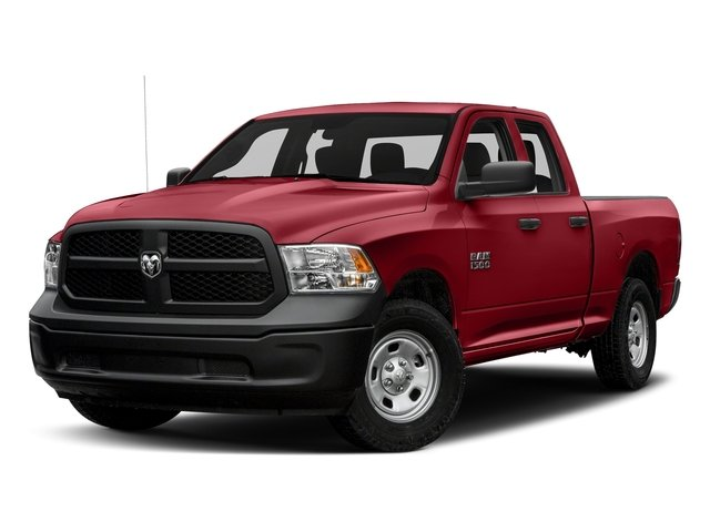 Flame Red Clearcoat 2018 Ram Truck 1500 Pictures 1500 Express 4x4 Quad Cab 6'4 Box photos front view