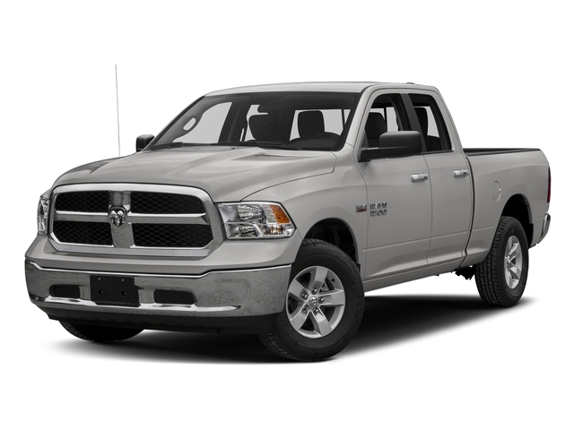 Bright Silver Metallic Clearcoat 2018 Ram Truck 1500 Pictures 1500 Harvest 4x2 Quad Cab 6'4 Box *Ltd Avail* photos front view