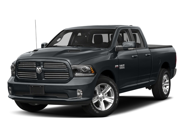 Maximum Steel Metallic Clearcoat 2018 Ram Truck 1500 Pictures 1500 Night 4x2 Quad Cab 6'4 Box *Ltd Avail* photos front view