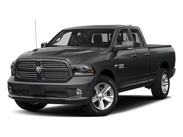 Granite Crystal Metallic Clearcoat 2018 Ram Truck 1500 Pictures 1500 Sport 4x4 Quad Cab 6'4 Box *Ltd Avail* photos front view