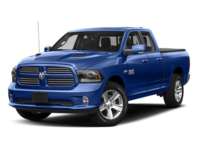 Blue Streak Pearlcoat 2018 Ram Truck 1500 Pictures 1500 Sport 4x4 Quad Cab 6'4 Box *Ltd Avail* photos front view