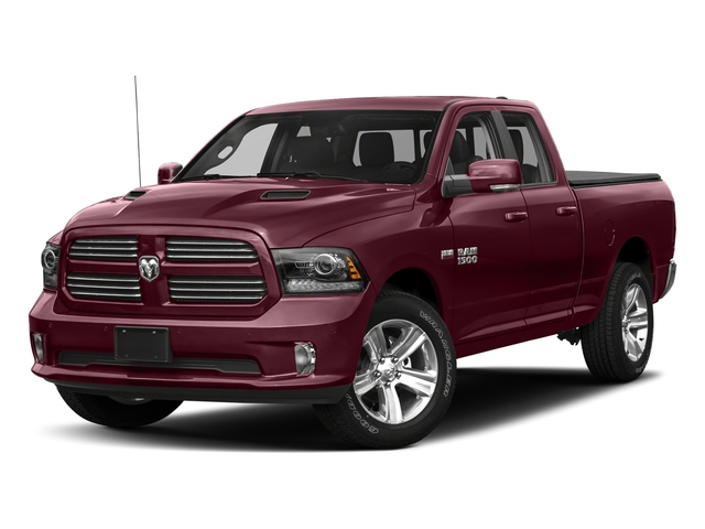 Delmonico Red Pearlcoat 2018 Ram Truck 1500 Pictures 1500 Sport 4x4 Quad Cab 6'4 Box *Ltd Avail* photos front view