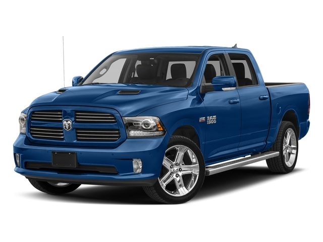 Blue Streak Pearlcoat 2018 Ram Truck 1500 Pictures 1500 Night 4x4 Crew Cab 6'4 Box *Ltd Avail* photos front view