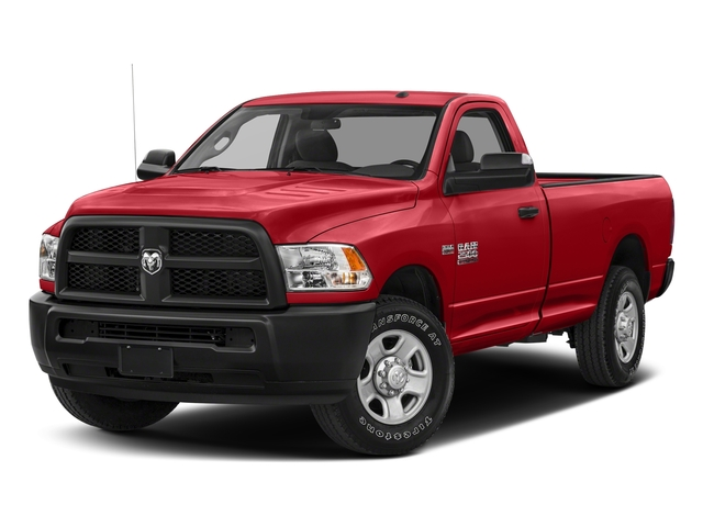 Bright Red 2018 Ram Truck 2500 Pictures 2500 SLT 4x4 Reg Cab 8' Box photos front view