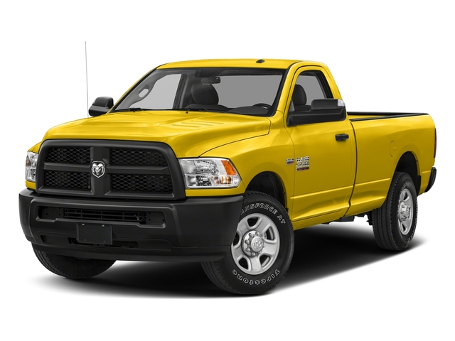 Yellow 2018 Ram Truck 2500 Pictures 2500 SLT 4x4 Reg Cab 8' Box photos front view