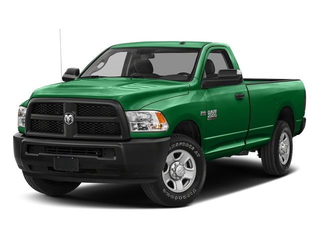 Bright Green 2018 Ram Truck 2500 Pictures 2500 SLT 4x4 Reg Cab 8' Box photos front view