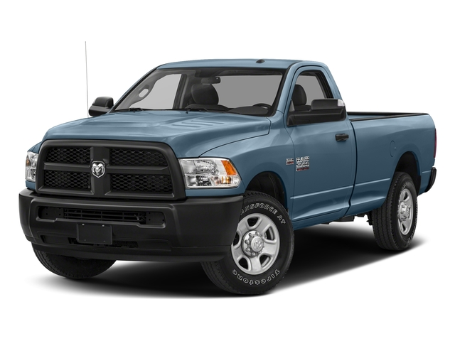 Robin Egg Blue 2018 Ram Truck 2500 Pictures 2500 SLT 4x4 Reg Cab 8' Box photos front view