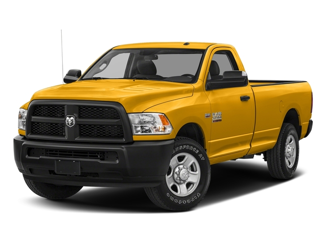Construction Yellow 2018 Ram Truck 2500 Pictures 2500 SLT 4x4 Reg Cab 8' Box photos front view