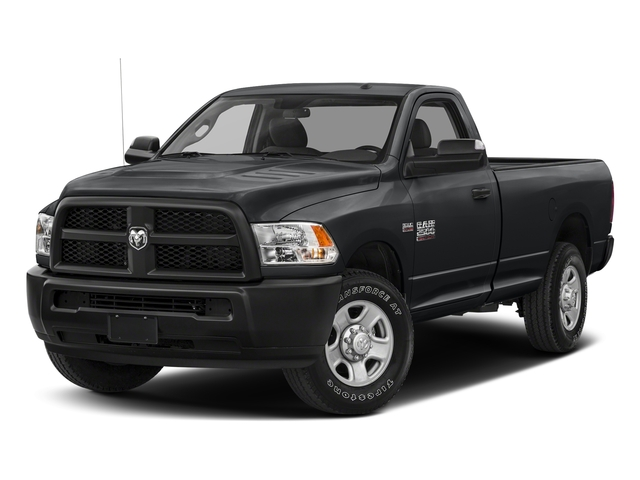 Granite Crystal Metallic Clearcoat 2018 Ram Truck 2500 Pictures 2500 SLT 4x4 Reg Cab 8' Box photos front view