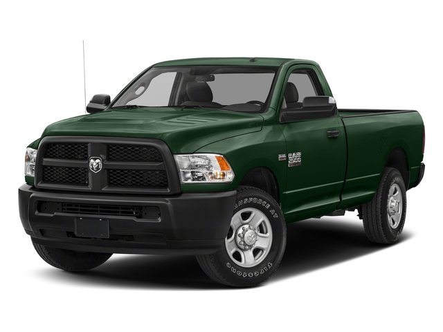 Timberline Green Pearlcoat 2018 Ram Truck 2500 Pictures 2500 SLT 4x4 Reg Cab 8' Box photos front view