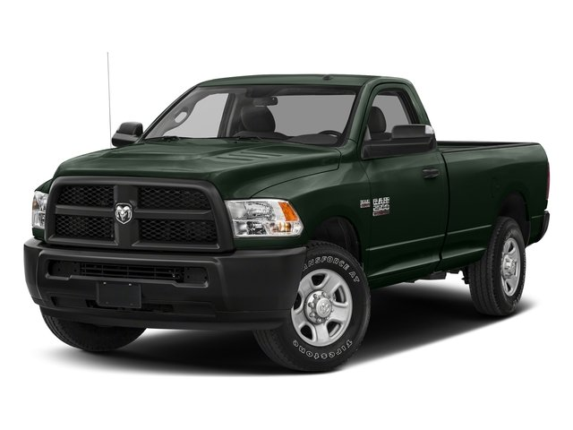 Black Forest Green Pearlcoat 2018 Ram Truck 2500 Pictures 2500 SLT 4x4 Reg Cab 8' Box photos front view