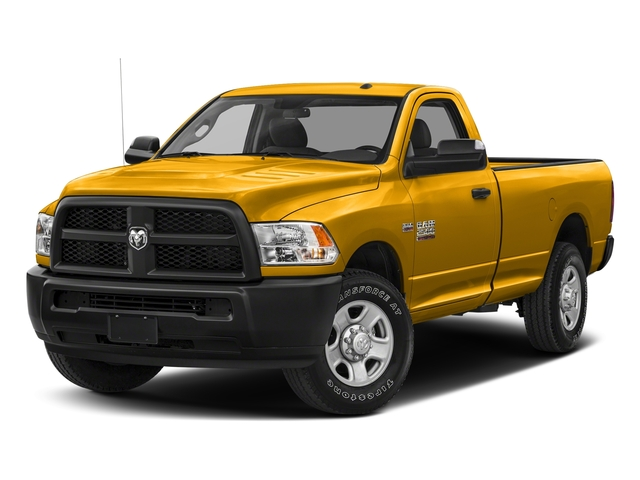 Detonator Yellow Clearcoat 2018 Ram Truck 2500 Pictures 2500 SLT 4x4 Reg Cab 8' Box photos front view