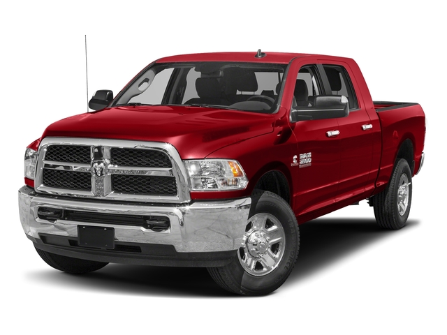 Bright Red 2018 Ram Truck 2500 Pictures 2500 SLT 4x4 Mega Cab 6'4 Box photos front view
