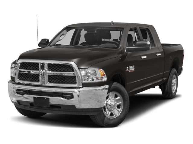 Granite Crystal Metallic Clearcoat 2018 Ram Truck 2500 Pictures 2500 SLT 4x4 Mega Cab 6'4 Box photos front view
