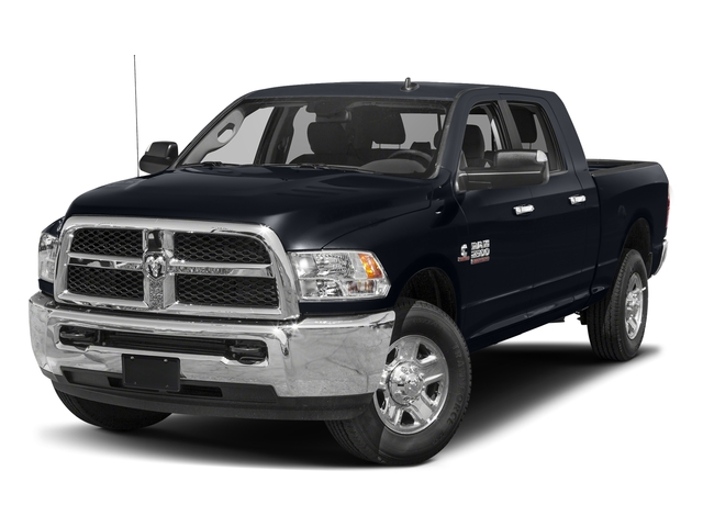 Midnight Blue Pearlcoat 2018 Ram Truck 2500 Pictures 2500 SLT 4x4 Mega Cab 6'4 Box photos front view