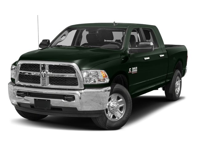 Black Forest Green Pearlcoat 2018 Ram Truck 2500 Pictures 2500 SLT 4x4 Mega Cab 6'4 Box photos front view