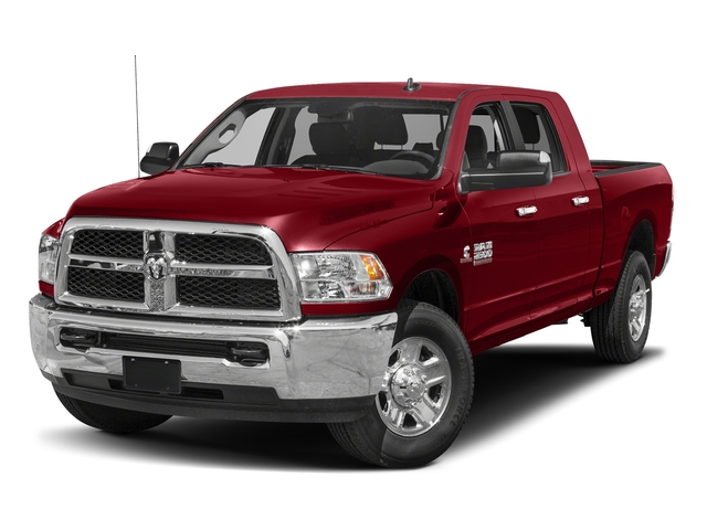 Flame Red Clearcoat 2018 Ram Truck 2500 Pictures 2500 SLT 4x4 Mega Cab 6'4 Box photos front view