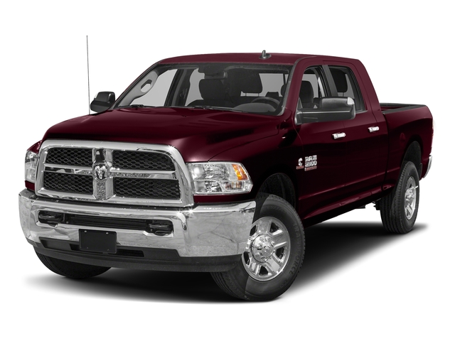 Delmonico Red Pearlcoat 2018 Ram Truck 2500 Pictures 2500 SLT 4x4 Mega Cab 6'4 Box photos front view