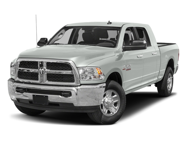 Bright White Clearcoat 2018 Ram Truck 2500 Pictures 2500 SLT 4x4 Mega Cab 6'4 Box photos front view
