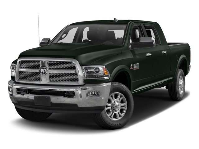 Black Forest Green Pearlcoat 2018 Ram Truck 2500 Pictures 2500 Laramie 4x4 Mega Cab 6'4 Box photos front view