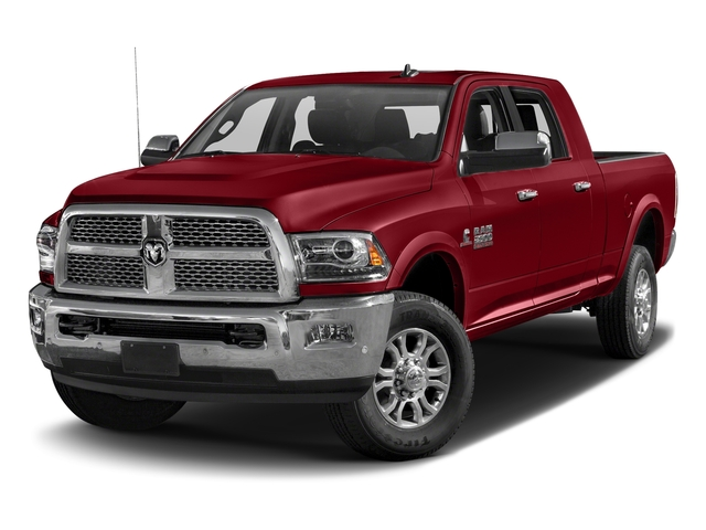Flame Red Clearcoat 2018 Ram Truck 2500 Pictures 2500 Laramie 4x4 Mega Cab 6'4 Box photos front view