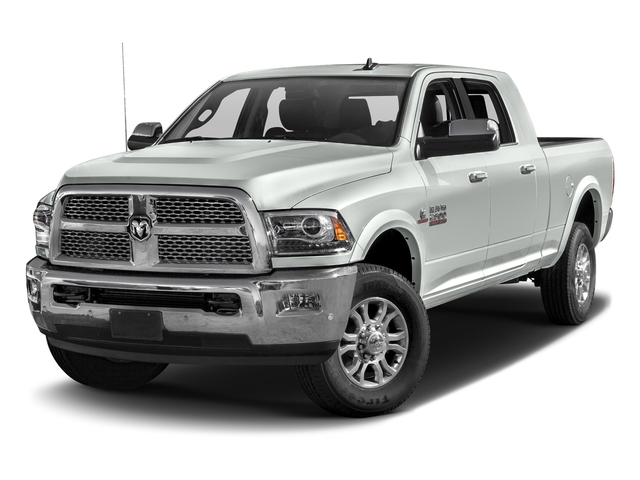 Bright White Clearcoat 2018 Ram Truck 2500 Pictures 2500 Laramie 4x4 Mega Cab 6'4 Box photos front view