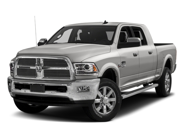 Bright Silver Metallic Clearcoat 2018 Ram Truck 2500 Pictures 2500 Limited 4x2 Mega Cab 6'4 Box photos front view