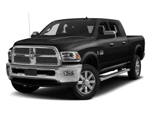 Brilliant Black Crystal Pearlcoat 2018 Ram Truck 2500 Pictures 2500 Limited 4x2 Mega Cab 6'4 Box photos front view