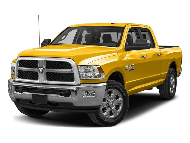 Yellow 2018 Ram Truck 2500 Pictures 2500 Big Horn 4x2 Crew Cab 6'4 Box photos front view