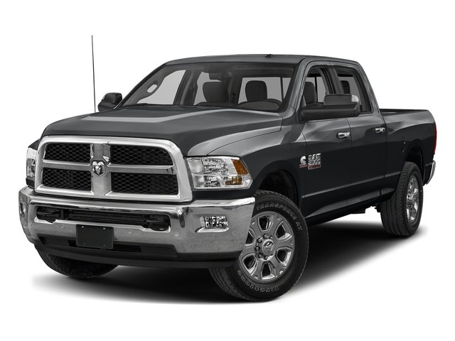 Granite Crystal Metallic Clearcoat 2018 Ram Truck 2500 Pictures 2500 SLT 4x2 Crew Cab 6'4 Box photos front view