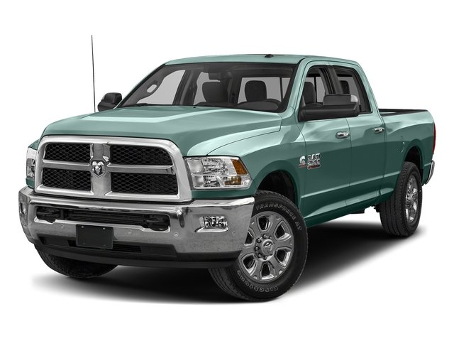 Light Green 2018 Ram Truck 2500 Pictures 2500 SLT 4x2 Crew Cab 6'4 Box photos front view