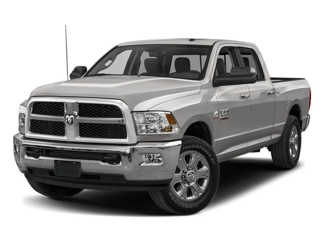 Bright Silver Metallic Clearcoat 2018 Ram Truck 2500 Pictures 2500 SLT 4x2 Crew Cab 6'4 Box photos front view