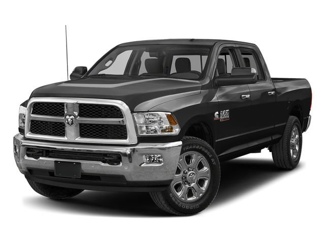 Brilliant Black Crystal Pearlcoat 2018 Ram Truck 2500 Pictures 2500 SLT 4x2 Crew Cab 6'4 Box photos front view
