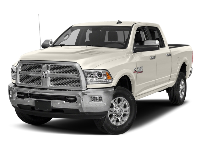 Pearl White 2018 Ram Truck 2500 Pictures 2500 Laramie 4x2 Crew Cab 6'4 Box photos front view