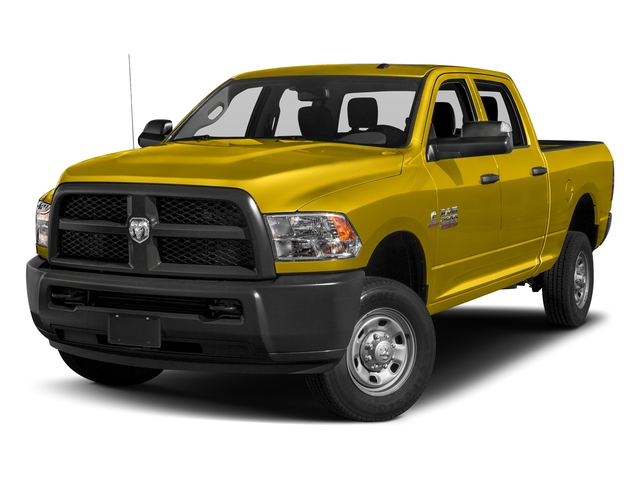 Yellow 2018 Ram Truck 2500 Pictures 2500 Tradesman 4x4 Crew Cab 8' Box photos front view