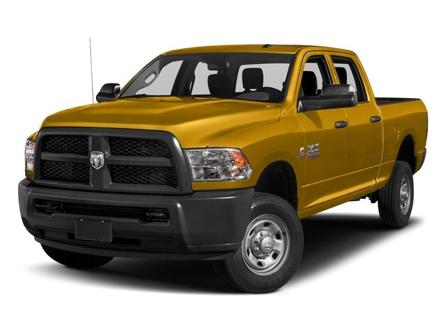 School Bus Yellow 2018 Ram Truck 2500 Pictures 2500 Tradesman 4x4 Crew Cab 8' Box photos front view