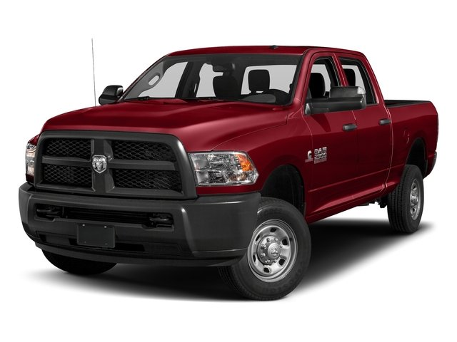 Flame Red Clearcoat 2018 Ram Truck 2500 Pictures 2500 Tradesman 4x4 Crew Cab 8' Box photos front view