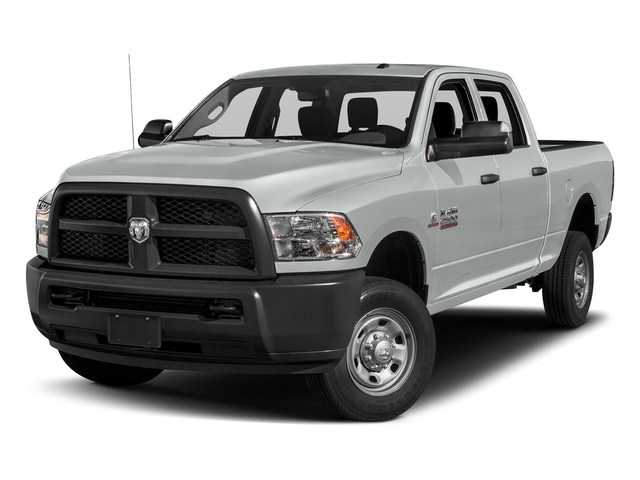 Bright White Clearcoat 2018 Ram Truck 2500 Pictures 2500 Tradesman 4x4 Crew Cab 8' Box photos front view