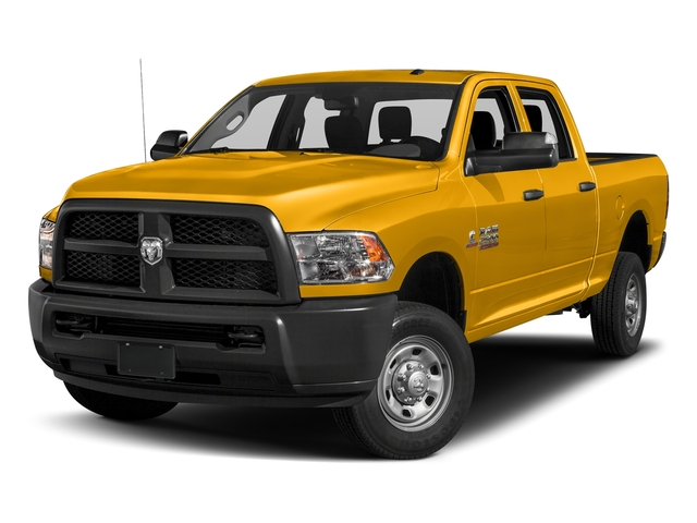 Detonator Yellow Clearcoat 2018 Ram Truck 2500 Pictures 2500 Tradesman 4x4 Crew Cab 8' Box photos front view
