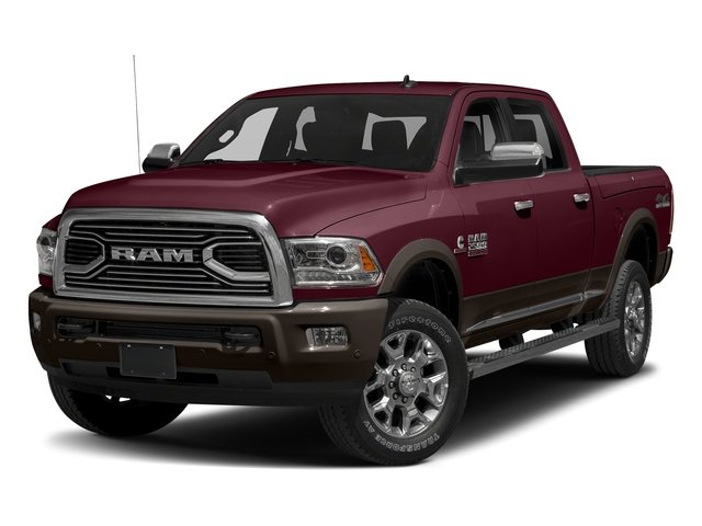 Delmonico Red Pearlcoat 2018 Ram Truck 2500 Pictures 2500 Laramie Longhorn 4x2 Crew Cab 8' Box photos front view
