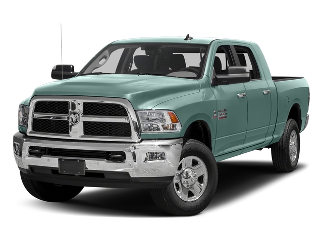 Light Green 2018 Ram Truck 3500 Pictures 3500 Mega Cab SLT 4WD photos front view